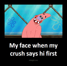 My face Patrick
